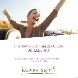 20. März: Internationaler Tag des Glücks